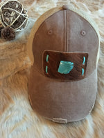 SHADOWHILL'S SLAB SNAPBACK - TURQUOISE