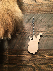 WV WOODEN ORNAMENT