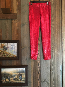 CRIMSONPORT SEQUIN LEGGINGS