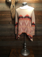 DUSTYDOWNS AZTEC TOP