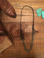 ROCKPORT LEATHER NECKLACE