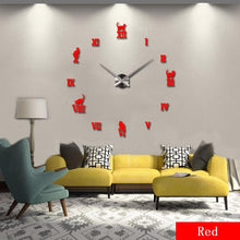 Large 120cm Roman Numeral Wall Clock
