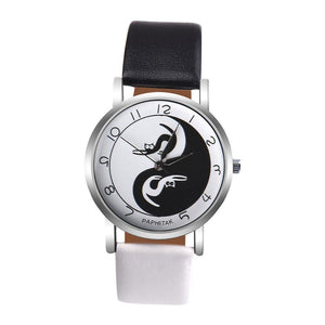 Cat Yin-Yang Analog Quartz Watch