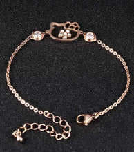 Cat Crystal Bracelet
