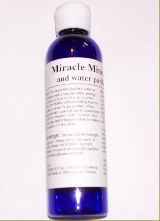 Miracle Mineral Solution  MMS1