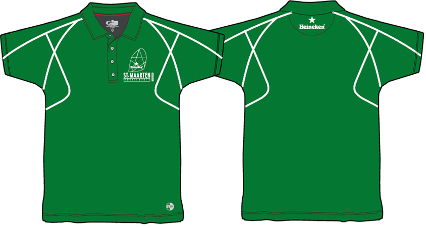 Green Gill Crew Polo Shirt