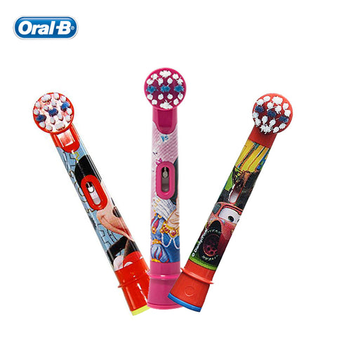 Oral B Children Brush Heads for Boys Girls Replaceable for Electric Teethbrush 2 heads/pack
