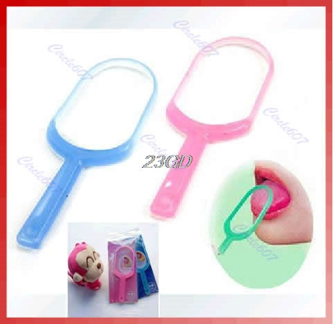 Hot Plastic Hygiene Mouth Care New Oral Tongue Cleaner Scraper