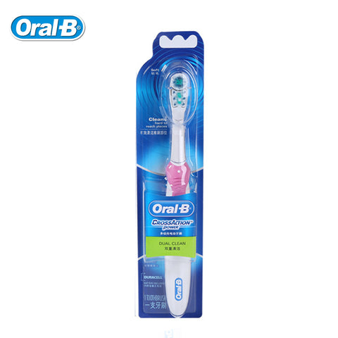 Original Oral B Electric Toothbrush Dual Clean Deep Clean Teeth Brush Use 1 AA battery  Non-Rechargeable - Dentists-world