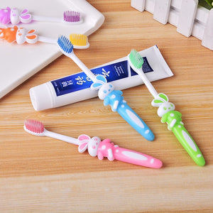 2 Pcs Soft Baby Toothbrushes for 2-12 years Children Oral Care