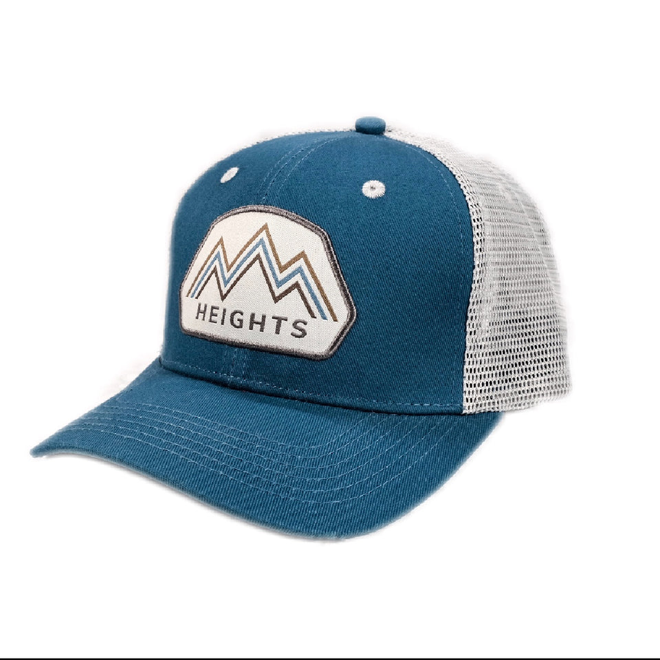 Heights Apparel Better Up Here Hat in Cobalt Blue, Clothing for tall guys
