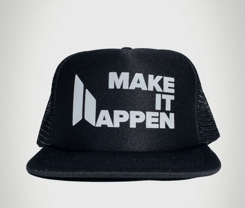 make it happen trucker hat