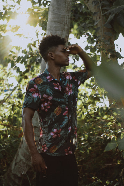 Floral shirts for tall guys