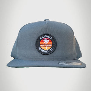 Palm Sunset Snapback - heights-apparel-co