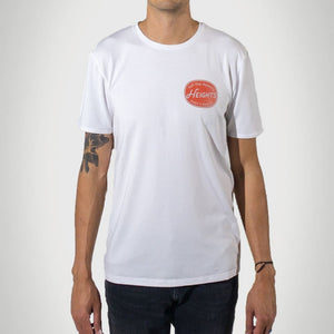 Red Label Premium Graphic Tall T-Shirt - White - heights-apparel-co