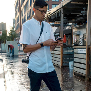 Short Sleeve Button Up Shirt - heights-apparel-co