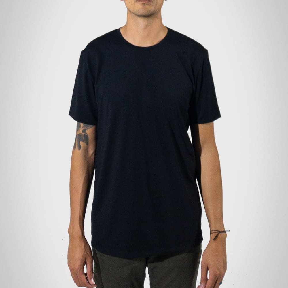 Signature Tall T-Shirt - Black - heights-apparel-co