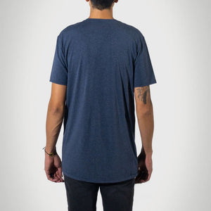 Signature Tall T-Shirt - Heather Lake - heights-apparel-co