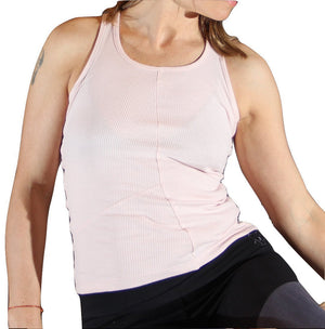 Nahanni Yoga Fitness Tank Top Vest in organic cotton by Prancing Leopard