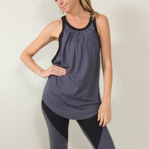 Rondane Yoga Vest - Fitness Tank - in Organic Cotton and Tencel®