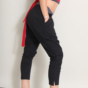Arguellos Organic Yoga Dress Pants in moisture-wicking Zeugma® cotton