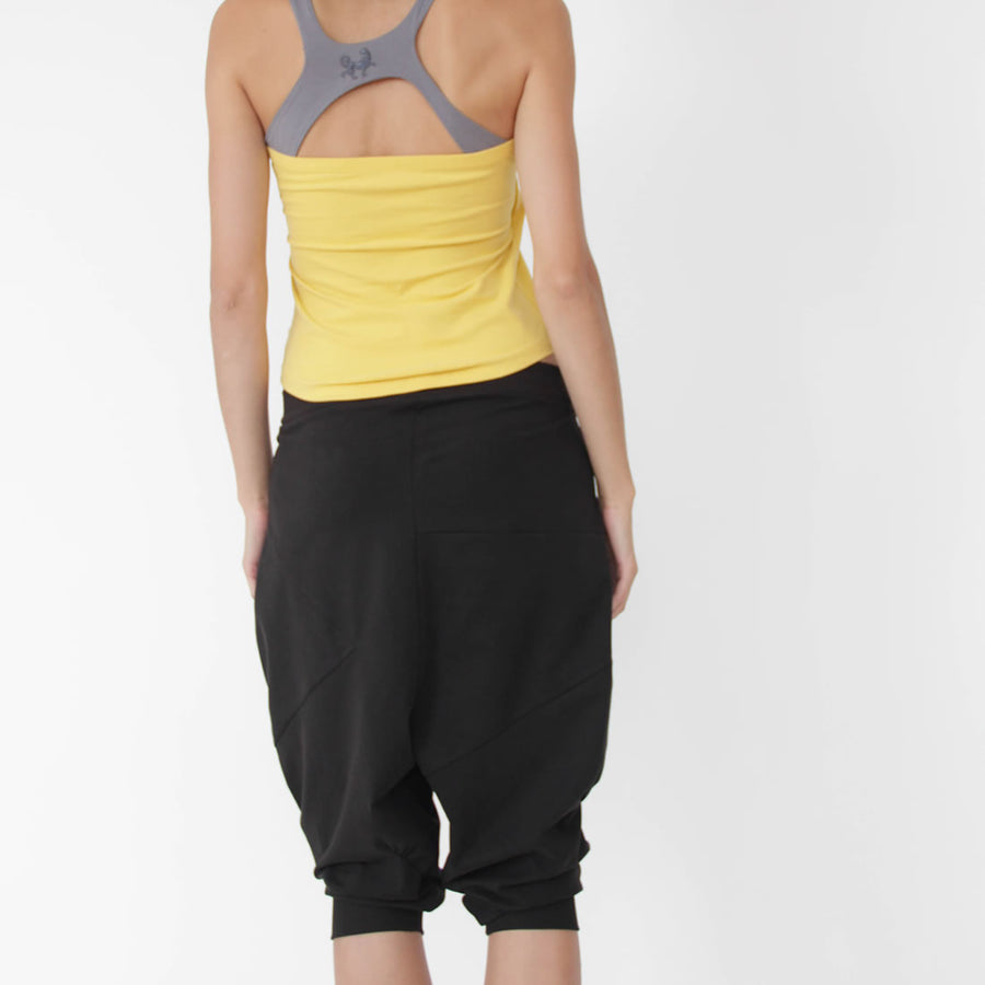 Pasha Harem Yoga Pants in Organic Cotton