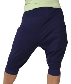 PASHA HAREM Yoga Capri Pants for Men in Organic Cotton