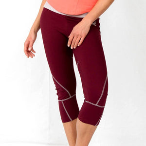 Seychelles Yoga Capris Pants in moisture-wicking Zeugma® organic cotton
