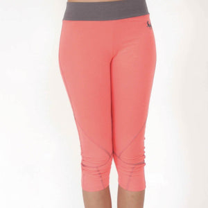 Seychelles Organic Yoga Capris Pants in moisture-wicking Zeugma® cotton