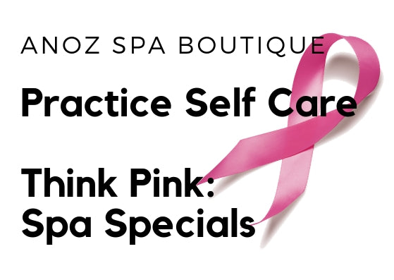 October Specials: Think Pink Spa Specials