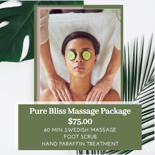 Pure Bliss Massage Package