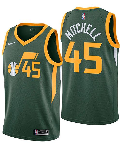 Donovan Mitchell Jazz Green Jersey