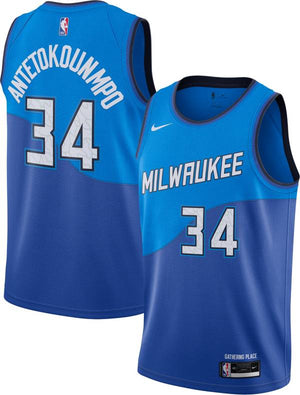 Giannis Antetokounmpo Bucks City Jersey