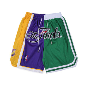 Lakers Celtics Finals Shorts