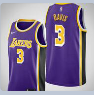 Anthony Davis Lakers Purple Jersey