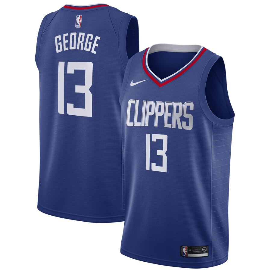 Paul George Clippers Blue Jersey