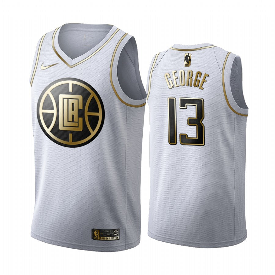 Paul George Clippers Platinum Jersey
