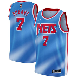 Kevin Durant Nets Throwback Jersey