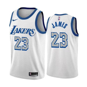 LeBron James Lakers City Jersey