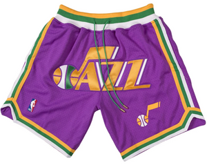 Jazz Purple Shorts