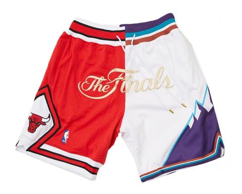 Bulls Jazz 1997 Finals Shorts