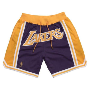 Los Angeles Lakers Purple Shorts
