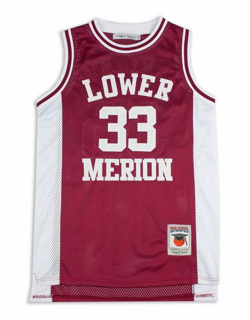 Kobe Bryant Lower Merion High School Red Jersey