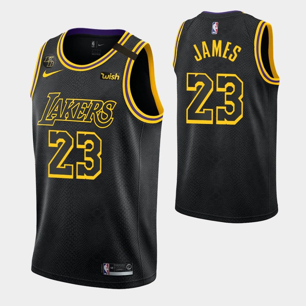 LeBron James Lakers Black Mamba Jersey