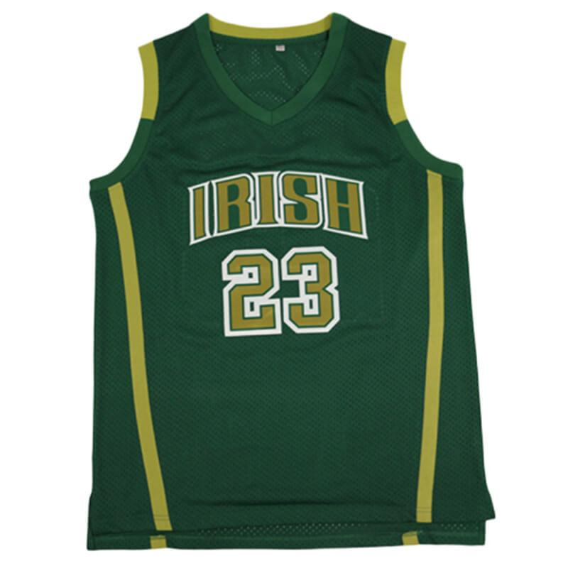 LeBron James St. Vincent-St. Mary High School Green Jersey