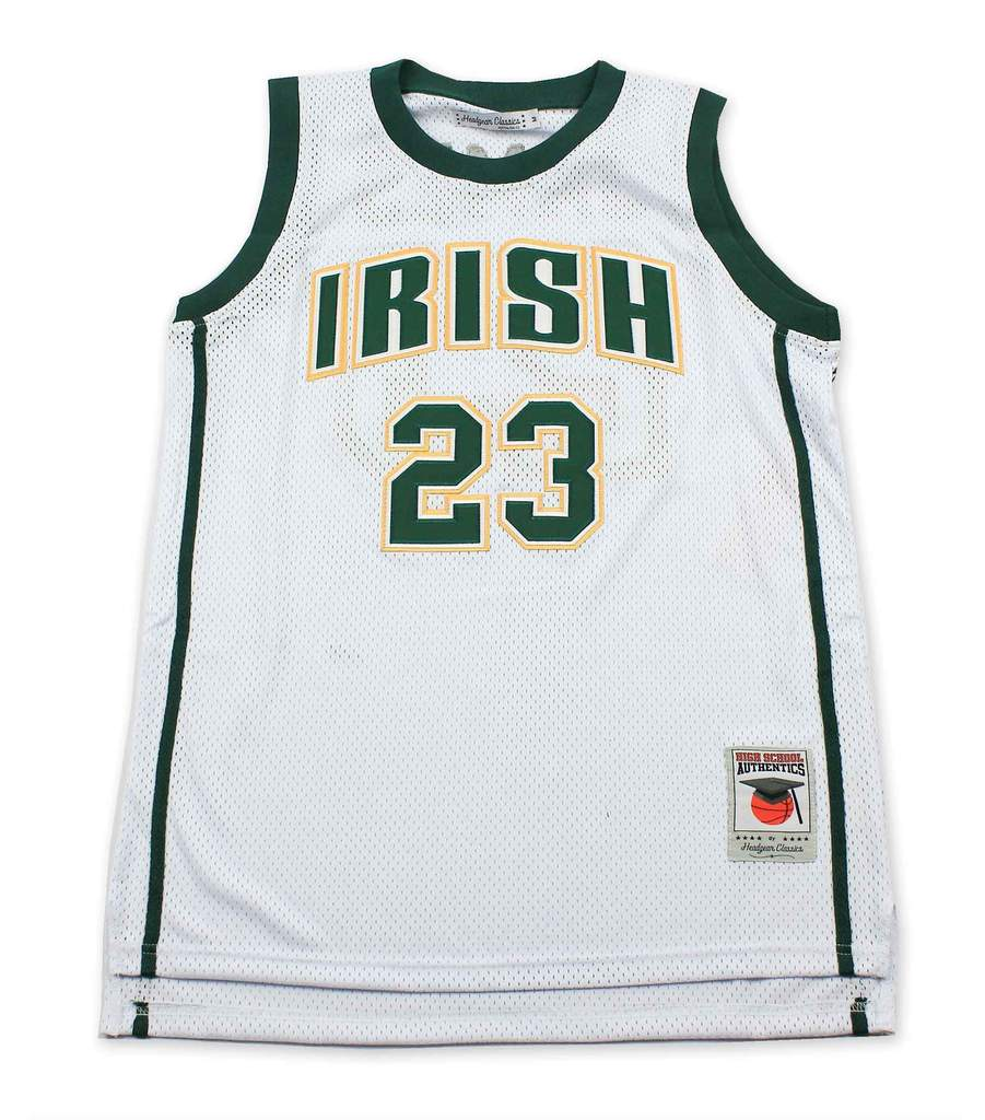 LeBron James St. Vincent-St. Mary High School White Jersey