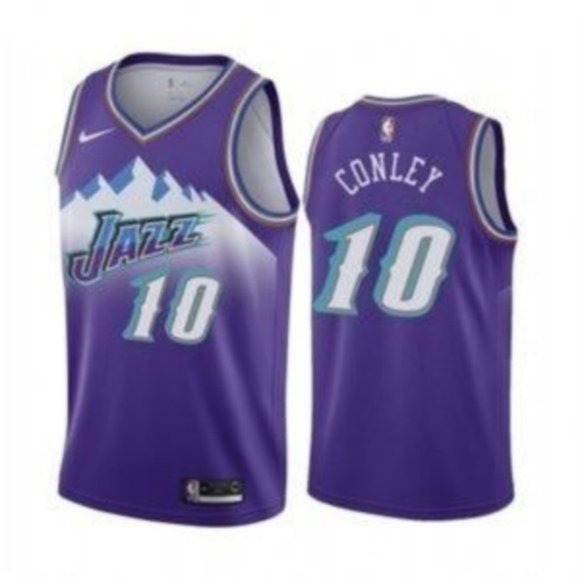 Mike Conley Jazz City Jersey (2020)