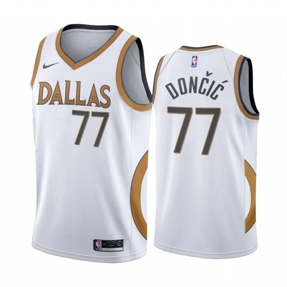 Luka Doncic Mavericks City Jersey