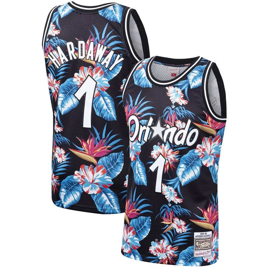 Penny Hardaway Floral Magic Jersey