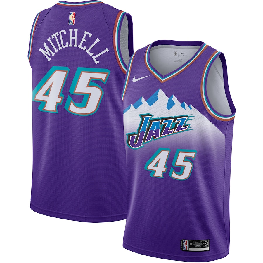 Donovan Mitchell Jazz City Jersey (2020)